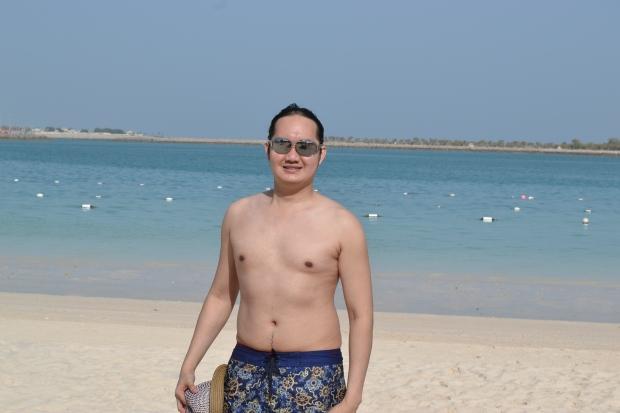 Corniche Beach, Abu Dhabi, UAE