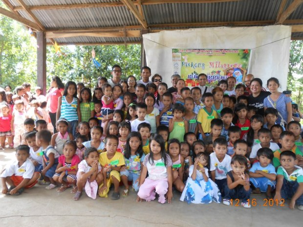 "TMA Bulig ""Paskong Milagreno 2012"" in collaboration with GKawad Kalinga and Single for Christ"
