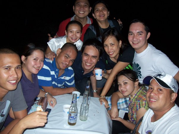 With PARE members @ Tondaligan Beach, Dagupan City, Pangasinan, Philippines