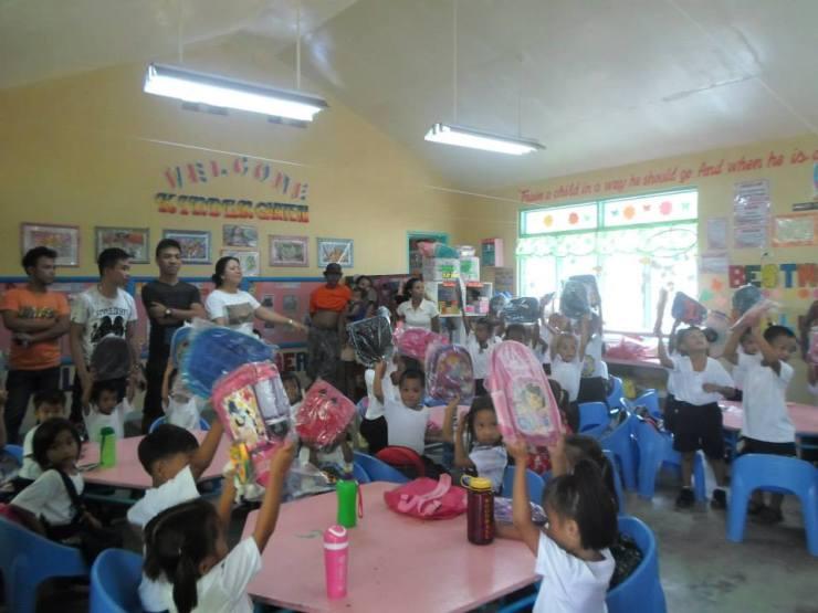 Vicente Oliva Sr. Elemetary School Kindergarten students (morning class)