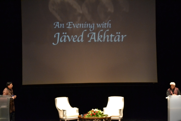 An evening with Javed Akhtar
