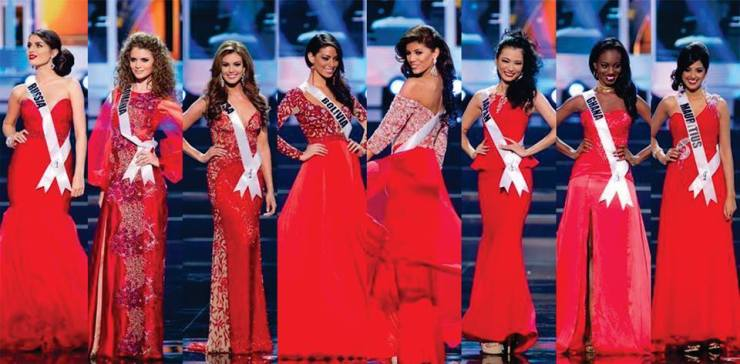 Evening Gown #MissUniverse2013Prelims