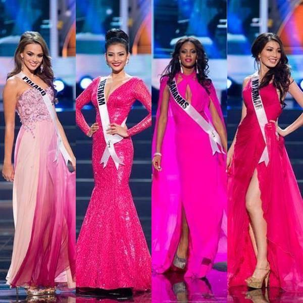 Evening Gown #MissUniverse2013Prelim