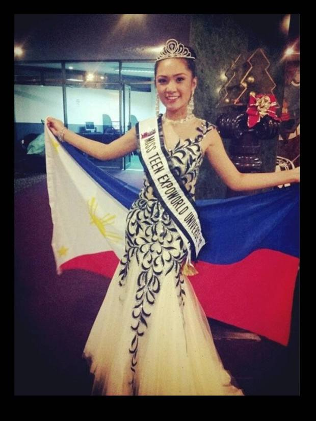 Amber Delos Reyes - Miss Teen Expoworld Universe 2013