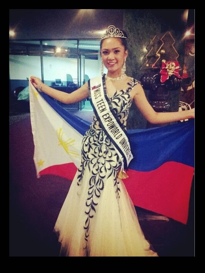 Amber Delos Reyes - Miss Teen Expoworld Universe 2013