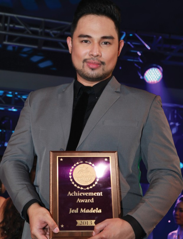 Jed Madela - WCOPA Performing Arts Hall of Famer