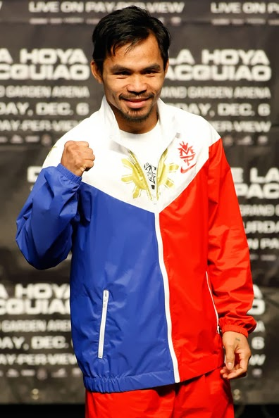 Manny Pacquiao - World Pound-for-Pound Fighter.