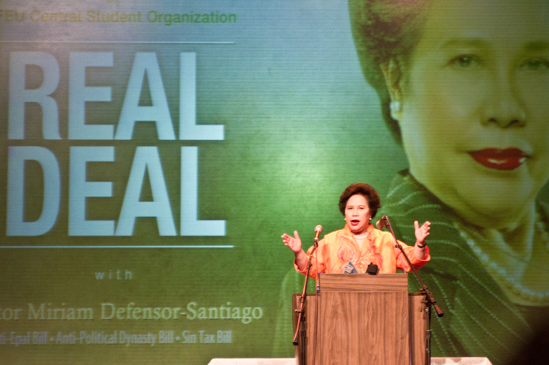 Sen. Miriam D. Santiago -  The Iron Lady of Asia