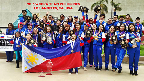 2013 SENIOR GRAND CHAMPION PERFORMER OF THE WORLD Beverly Caimen - Philippines 2013 JUNIOR GRAND CHAMPION PERFORMER OF THE WORLD Aldeza Dela Torre - Philippines 2013 Sr. Grand Champion Vocal Group of the World Gollayan Sisters - Philippines 2013 Sr. Grand Champion Male Model of the World Reynaldo Gorospe - Philippines 2013 Jr. Grand Champion Vocalist of the World Aldeza Dela Torre - Philippines 2013 Sr. Grand Champion Vocalist of the World Beverly Caimen - Philippines