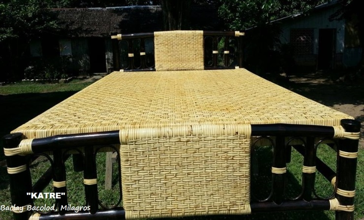 "KATRE By: Jessire P. Buenavista ""Making exquisite indoor and outdoor furniture made from bamboo and rattan, is our family source of income"". Baclay Bacolod, Milagros  Nov. 1, 2013  Panel of Judges - 35% Likes - 46% Ave = 81% Prize - P500.00"