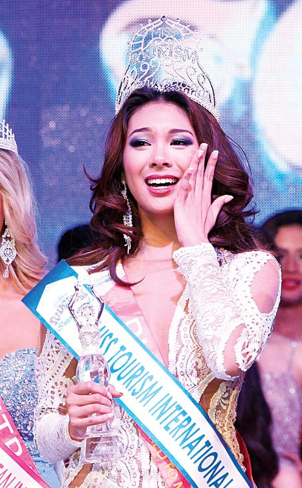 Angeli Dione Gomez - Miss Tourism-International 2013/14 held last Dec. 31, 2013 at Kuala Lumpur, Malaysia