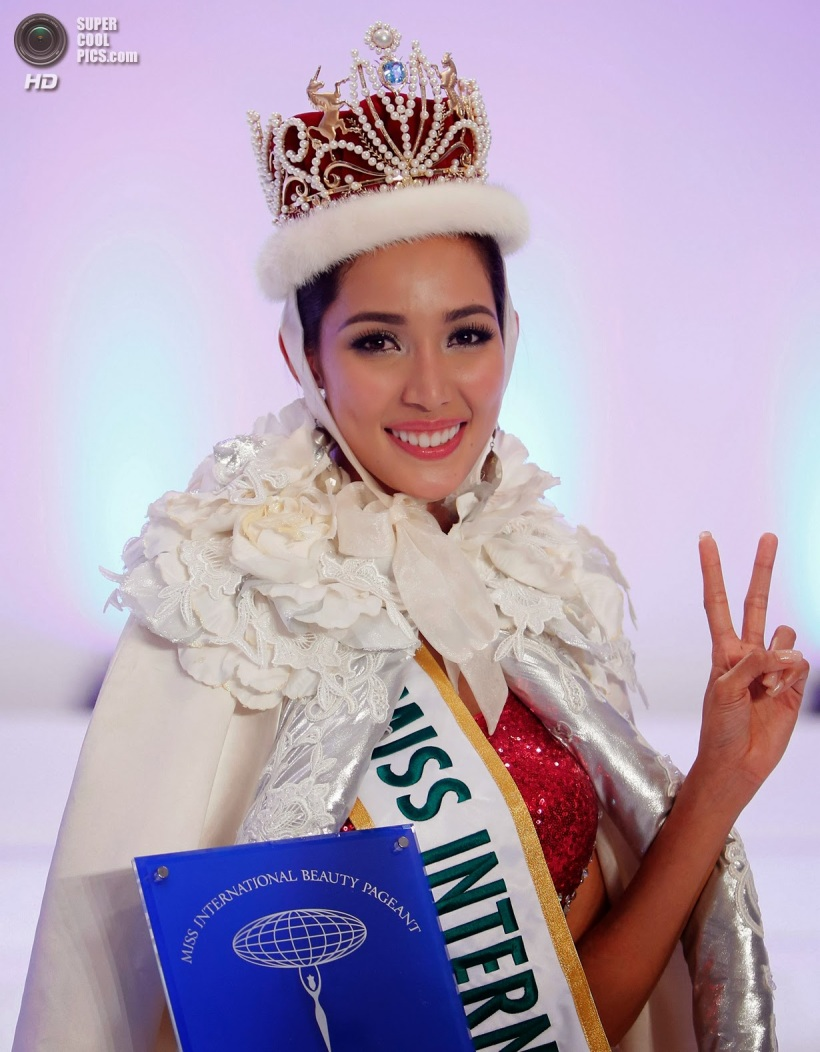 Bea Rose Santiago - Miss International 2013 (53rd Miss International beauty pageant, held at the Shinagawa Prince Hotel Hall in Tokyo, Japan on December 17, 2013)