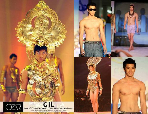 Gil Wagas - Mister Internationa 2013 Fourth Runner-Up, held in Jakarta, Indonesia last Nov. 22, 2013