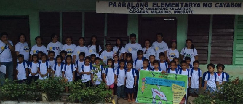 43 kids @ Cayabon Elementary School (10AM May 23, 2014)