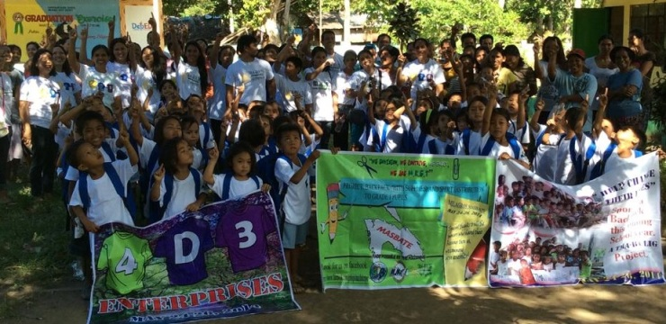 58 kids from Capaculan Elementary School (9AM May 23, 2014)