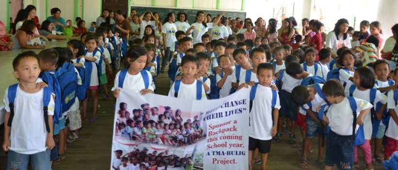 101 kids from Milagros West Central School (8AM May 24, 2014)